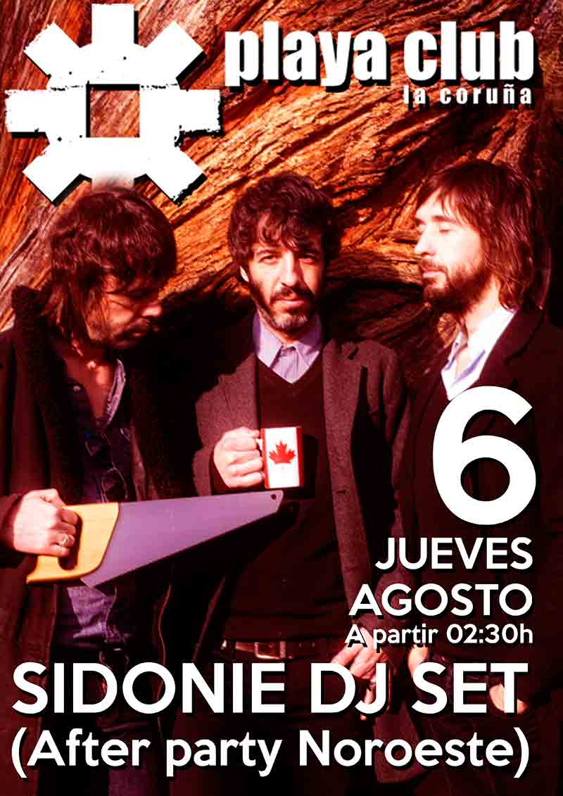 sidonie-dj-set-playa-club-coruña-noroeste-pop-rock