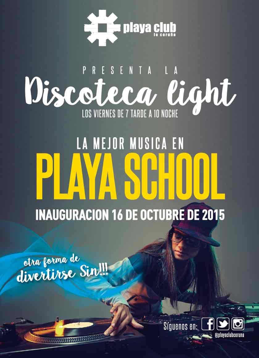 Discoteca Playa Club Light